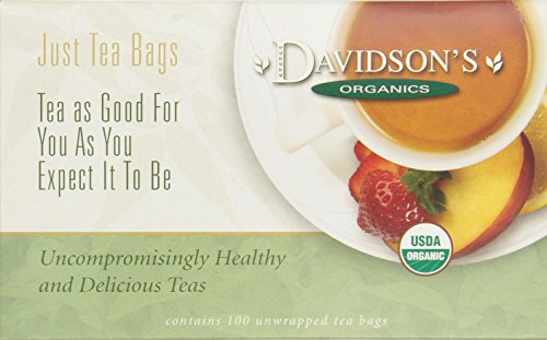 Davidson's Tea Herbal Christmas Tea, 100-Count Tea Bags