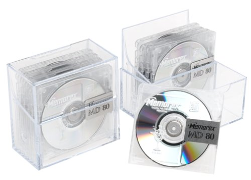 Memorex 80-Minute Minidisc Media (10-Pack) (Discontinued by Manufacturer)