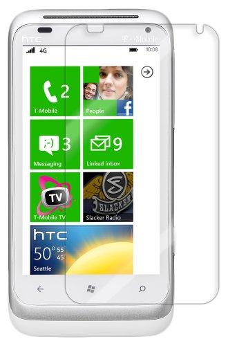 HTC Titan Screen Protector, Skinomi TechSkin Full Coverage Screen Protector for HTC Titan Clear HD Anti-Bubble Film