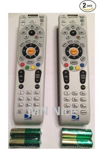 DIRECTV RC66 2 PACK Universal IR Remote Control - Replaces Remote RC65X, RC65, RC65XMP, RC21, RC24, RC30,RC64 2PK