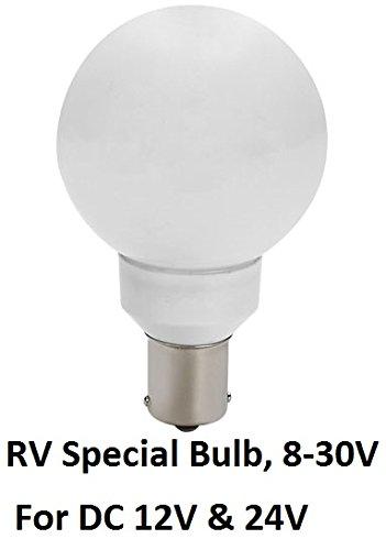 Gold Stars 20990080 LED Vanity Light 20-99/1156 Base 130 Lums 12v or 24v Natural White (1)