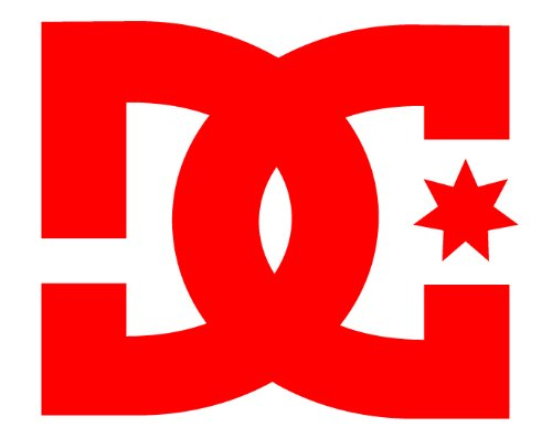 DC Sticker Decal Red 3 Inch Skate Surf Drift Rally Rob Dyrdek , Ken Block