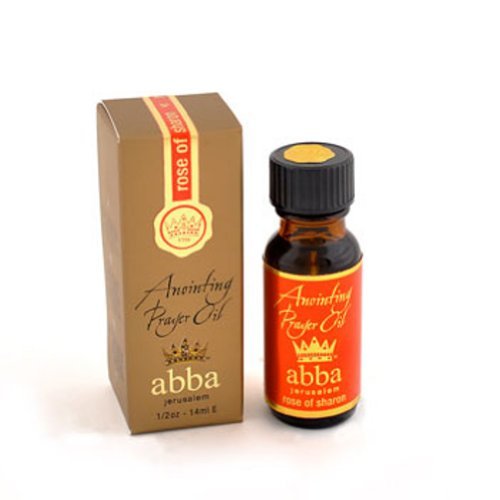 Anoint Oil-Rose Of Sharon In Gift Box-1/2oz