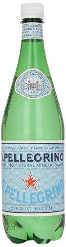 San Pellegrino Sparkling Natural Mineral Water, 33.8-ounce plastic bottle