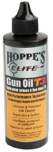 Hoppe's Elite Gun Oil with T3, 2-Ounce Bottle