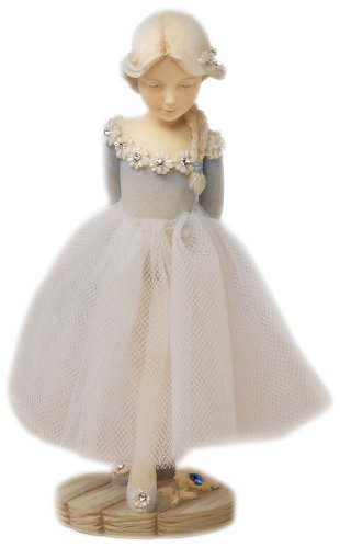 Enesco Foundations September Birthstone Ballerina Figurine, 5-Inch