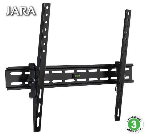 Jaras® Slim TILT-TV Fixed Mount Designed for 32-60-Inch TVs, Black