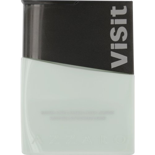 AZZARO VISIT by Azzaro AFTERSHAVE BALM 2.6 OZ (Package Of 2)