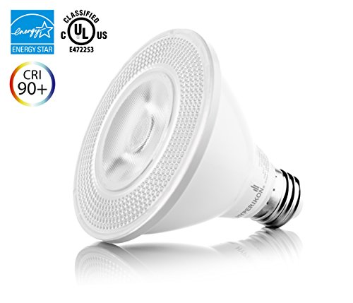 Hyperikon PAR30 LED Bulb, Short Neck (L: 3.6), 10W (65W equivalent), 820lm, 3000K (Soft White Glow), CRI90+, 40° Beam Angle, Medium Base (E26), ENERGY STAR, Dimmable, UL-listed