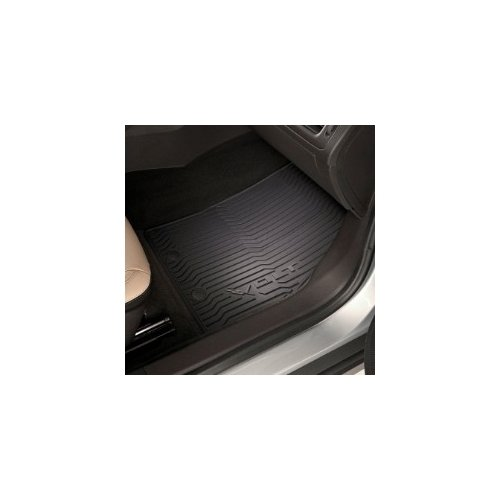 GM # 19243441 Floor Mats - Front and Rear Premium All Weather - Ebony with Volt Logo
