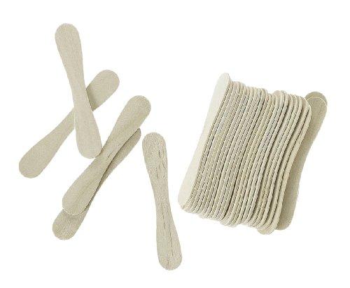 Darice 9150-89 Mini Wood Spoons, Natural, 3/4-Inch
