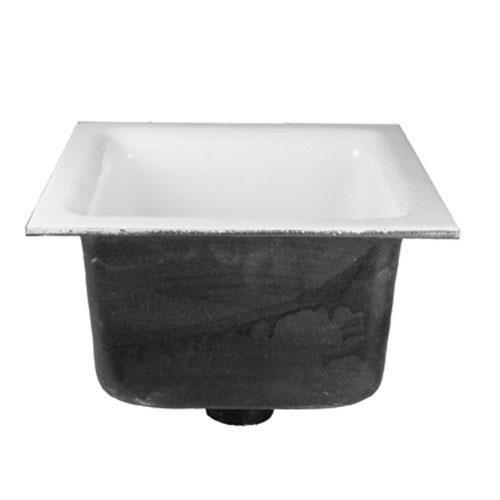 Gsw GSW FS-1262 Floor Sink Cast Iron Porcelain 12 Sq Top Fs1262 11563 Fs-1262