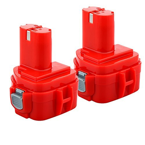 URPOWER 2 Pack 12v 2000mAh 2.0 Amp Power Tool Battery Replacement for Makita 1222 1220 1200 192598-2 Pod Style Battery
