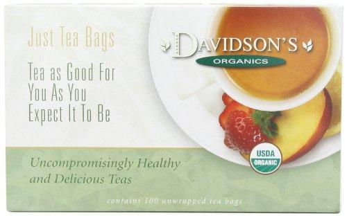 Davidson's Tea Bags, Sencha, 100 Count