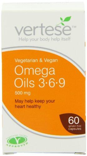 Vertese 500mg Omega Oils 3.6.9 60 Vegetable Capsules