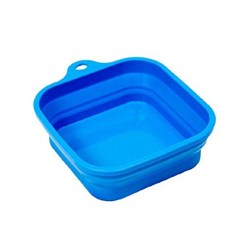 Bergan Collapsible Travel Bowl, 3 Cup Capacity, Blue