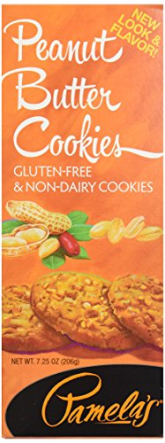 Pamela's Products Wheat-Free Gluten-Free Cookies Peanut Butter -- 7.25 oz