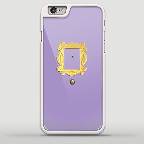 Monica's Peephole Door Friends Tv Show for Iphone and Samsung Case (iphone 6 plus white)