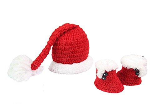 Handmade Newborn Baby Photo Photography Props Costume Hat Set 0-12 Months