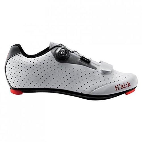Fizik Shoes - Men's - Road - R5 Uomo - BOA - White/Light Gray - Size 43