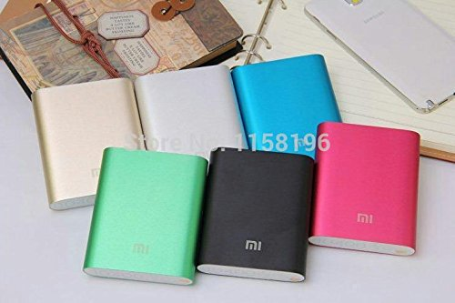 MI 10400mAh External Battery (Power Bank, Portable Charger) with Premium Aluminum Alloy Surface - Compatible with iPhone 5S, iPad Air, Samsung Galaxy S4, Note 3, HTC One, Nokia Lumia, LG Nexus 5, Blackberry-Silver