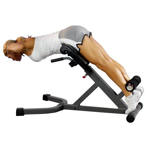 XMark Fitness 45-Degree Hyperextension