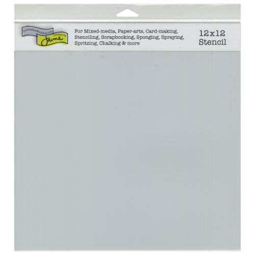 Crafters Workshop Crafter's Workshop Template, 12 by 12-Inch, Stencil Sheets