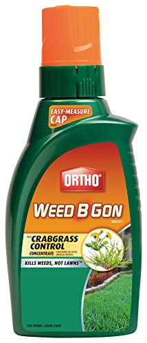 Ortho Weed B Gon MAX Weed Killer for Lawns Plus Crabgrass Control Concentrate 32oz (Not Sold in HI, NY)