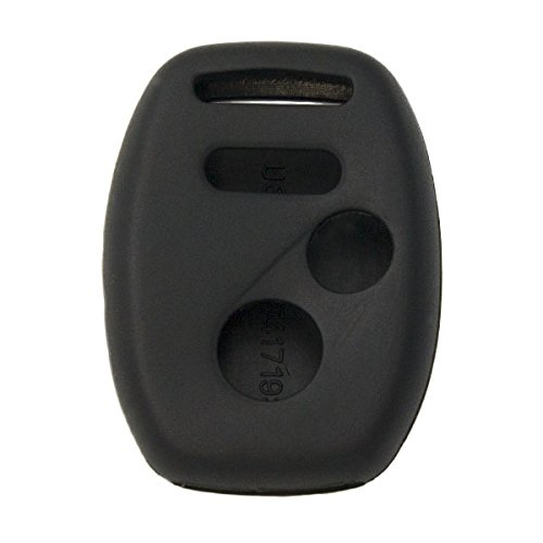 Keyless2Go New Silicone Cover Protective Case for Remote Keys KR55WK49308 MLBHLIK-1T OUCG8D-380H-A - Black