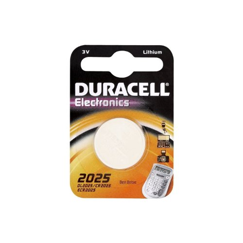 Multi pack - 5 x Duracell CR2025 3v Lithium coin cell batteries