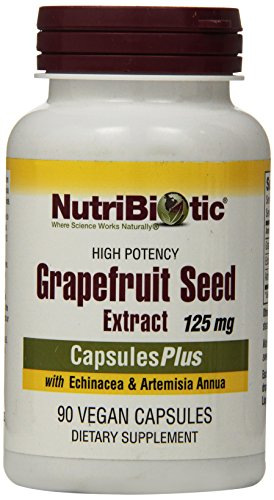 Nutribiotic Grapefruit Seed Extract Plus 125mg - 90 Capsules