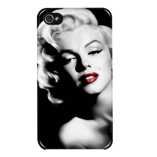 HAIRYWORM- Marilyn Monroe iphone 5 / 5s Hard Plastic Protective Back Case Cover for Mobile Phone