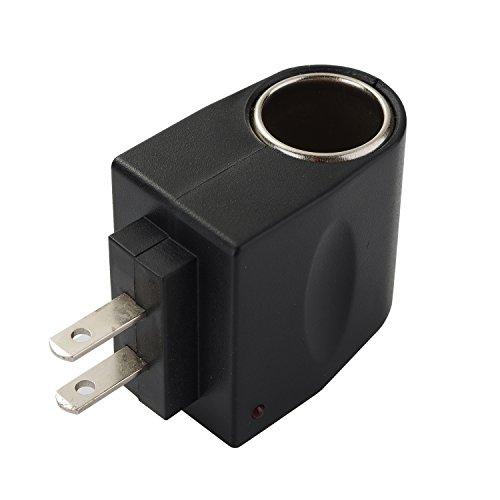 AOKII AC to DC Power Socket Adapter Converter,110~220V Mains to 12V Car Cigarette Lighter Socket Power Adapter Charger,Household Cigarette Lighter