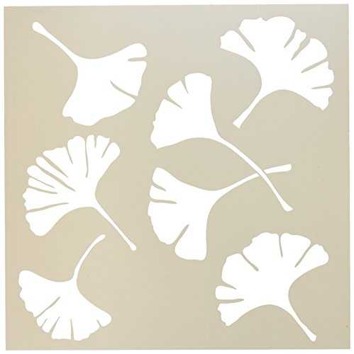 Crafter's Workshop Templates 12X12-Ginko Leaves