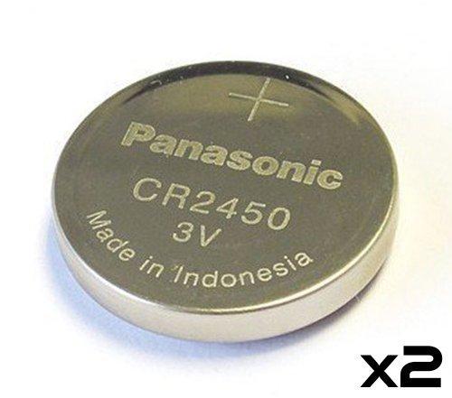 Panasonic Cr2450 Cr 2450 Lithium 3v Battery (2-pack)