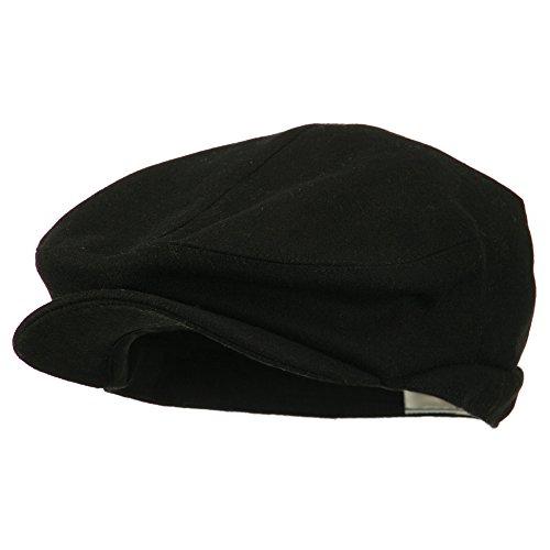 New Wool Blend Ivy Cap-Black