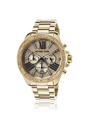 Michael Kors Wren Chronograph Womens Watch - Gold