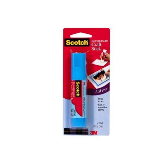 Scotch 6314CRAFT 0.49-Ounce Glue Sticks