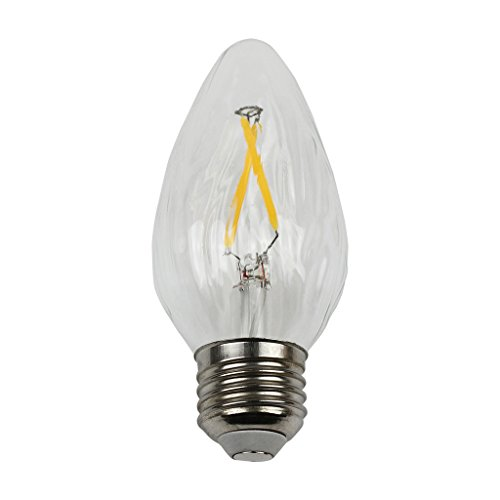LIGHTSTORY F15 1.8W LED Filament Bulb - LED Decoration 25W Equivalent, E26 Base, 2700K, Non-dimmable