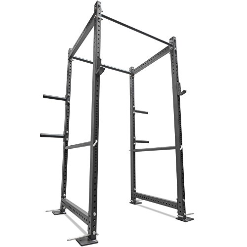 Titan 36 Deep T-3 Series HD Power Rack Squat Deadlift Barbell Cage Bench Stand