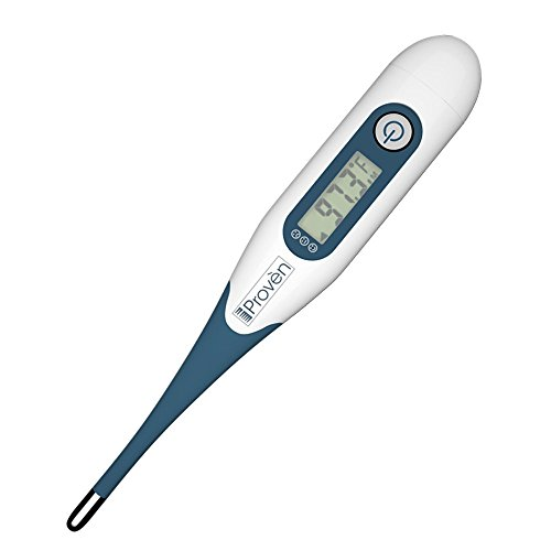 [NEW] Medical Thermometer with Fever Indication - Fast and Accurate. For Oral, Rectal and Axillary Use - iProven DT-R1221A