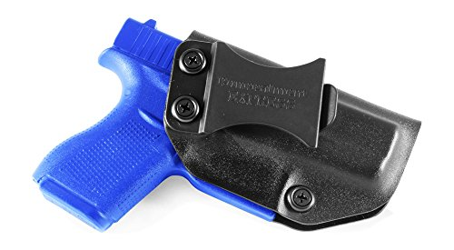 Concealment Express IWB KYDEX Holster: fits Glock G42 (Black - Right Hand)