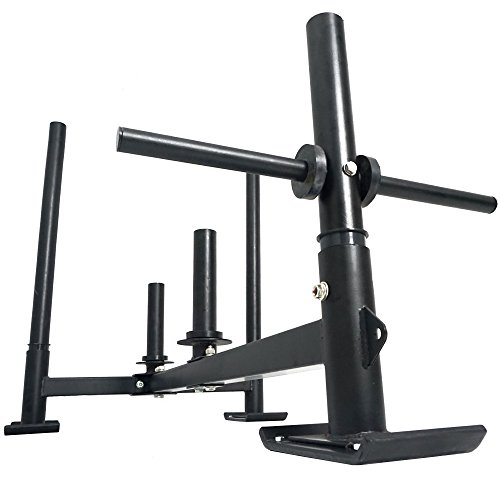 Titan Fitness HD Weight Sled Low Push Pull Heavy High Crossfit Training