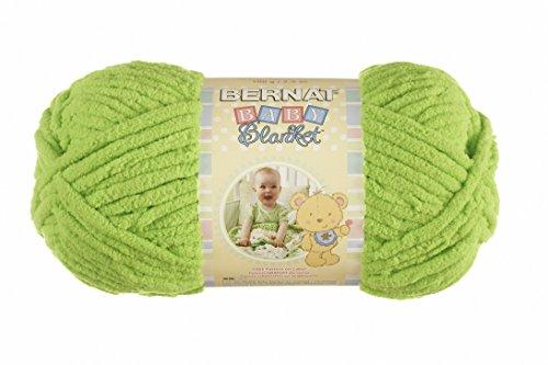 Spinrite Baby Blanket Yarn, Lemon Lime