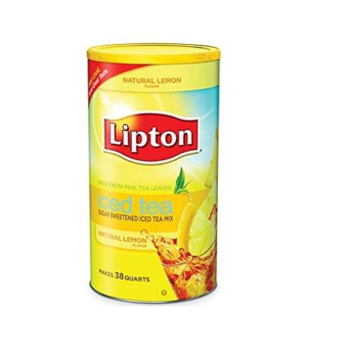 Lipton Iced Tea Mix, Lemon 28 qt(pack of 2)