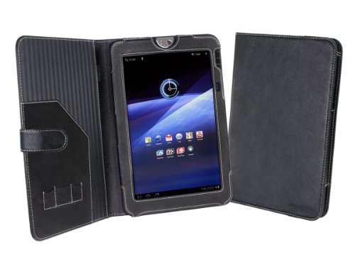Cover-Up Toshiba Thrive AT100 / AT105 10.1 Tablet (AT100-100) Leather Cover Case (Book Style) - Black