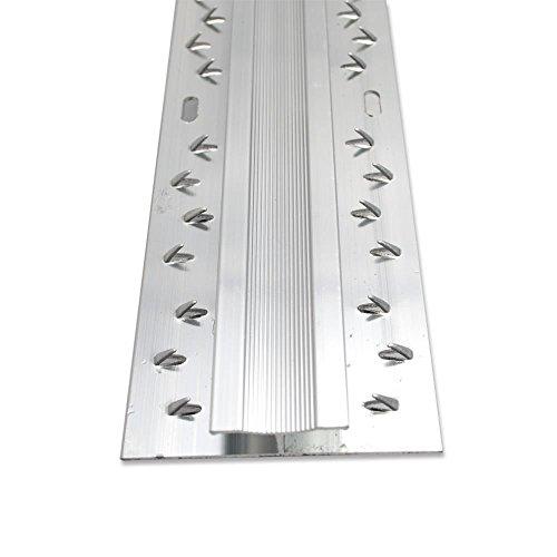 eXtreme® Threshold Double Carpet Door Plate Aluminium Threshold 8ft length