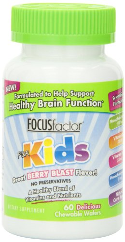 Factor Nutrition Labs Focus Factor for Kids, Berry Blast,