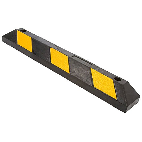 Rubber Block Parking Curb for Driveways or Garages