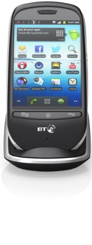 BT Home DECT SmartPhone with Answer Machine, Touch Screen and Wi-Fi